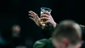 Drinking in sight of the pitch has been banned in the top five tiers of the game in the UK since 1985