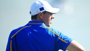 Rory McIlroy struggled to make his mark at the Ryder Cup