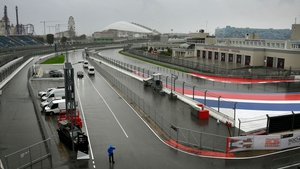 Bad weather has disrupted qualifying in Sochi