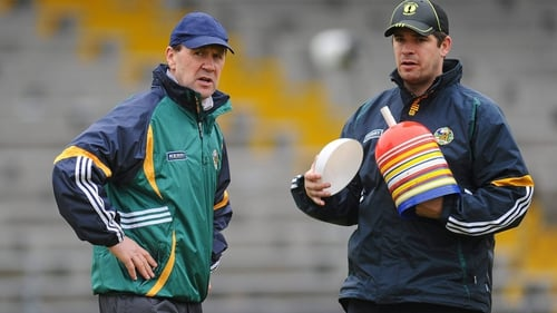 Kerry manager Jack O'Connor and selector Eamon Fitzmaurice in 2010