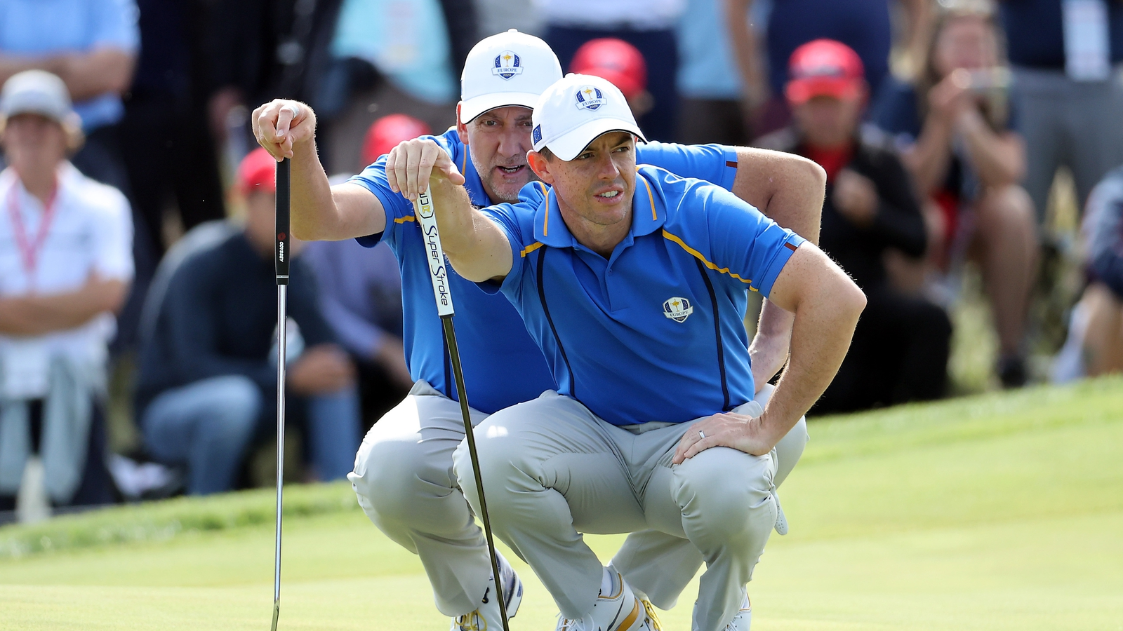 Harrington teams McIlroy and Poulter again in fourballs - RTE.ie