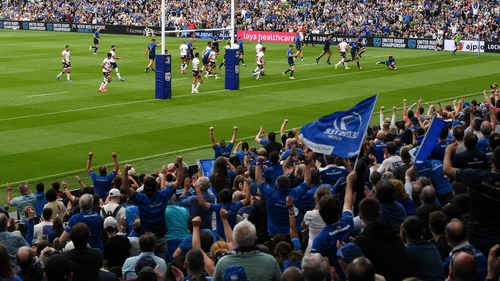 Leinster thrilled their fans at the Aviva