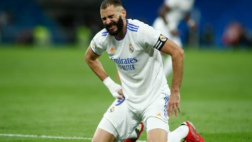 Benzema was unable to continue his good goalscoring form for Real