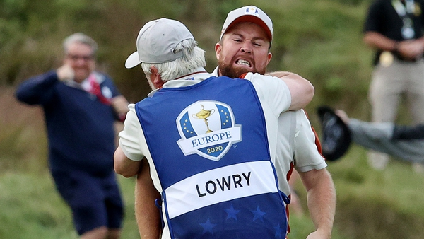 Lowry carded six birdies during a sensational display