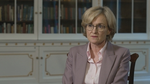 Ireland's Commissioner Mairead McGuinness