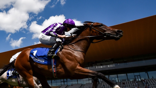 Concert Hall won the Irish Stallion Farms EBF Fillies Maiden at The Curragh in July