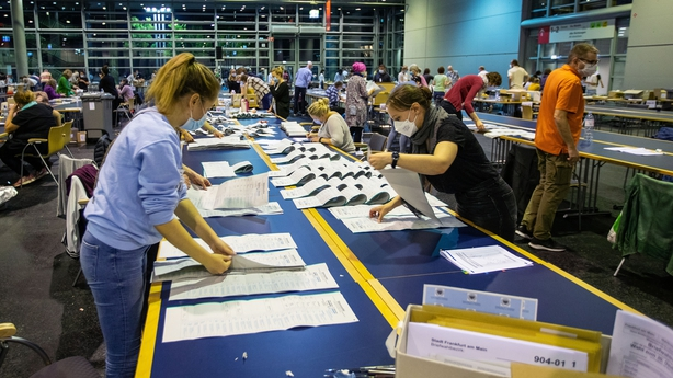 Ballot counting in Germany
