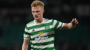 Liam Scales made his Celtic debut off the bench against Raith Rovers