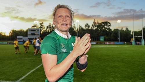 Claire Molloy won 74 Ireland caps between 2009 and 2021