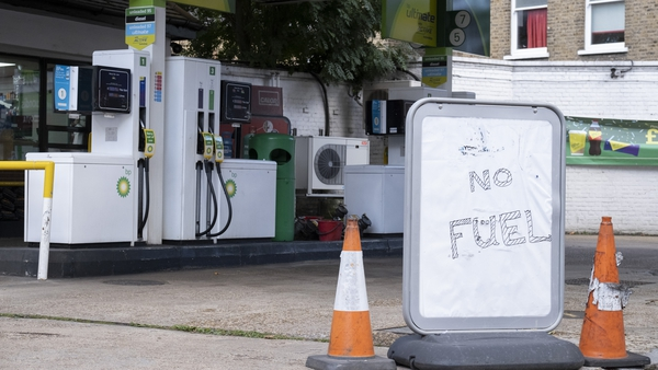 Panic buying has exacerbated the supply issues at petrol stations across the UK