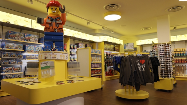Lego opened a new flagship store in Manhattan, New York City in June