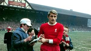 Roger Hunt scored a remarkable 244 league goals for Liverpool