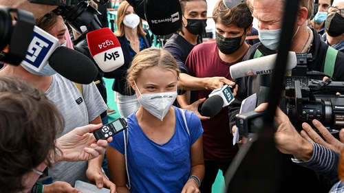Greta Thunberg accused governments of 'shamelessly congratulating themselves' for insufficient pledges to cut emissions
