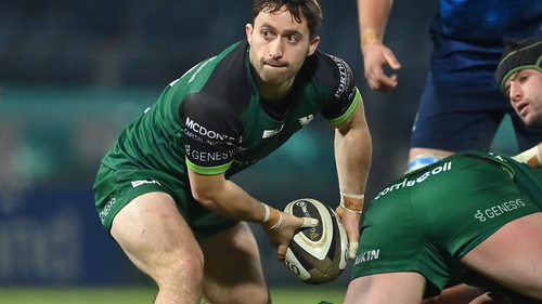 Caolin Blade missed Connacht's URC opener away to Cardiff