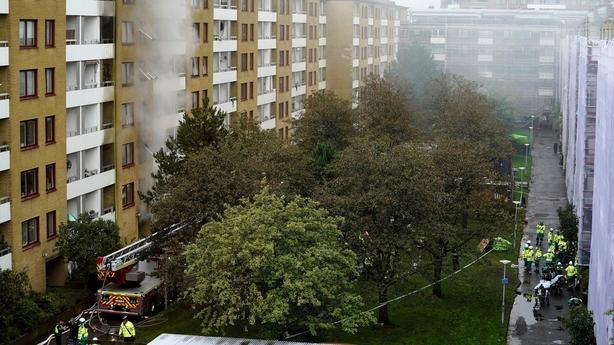Apartment building Sweden