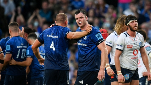 James Ryan started for Leinster in their 31-3 win against the Bulls on Saturday