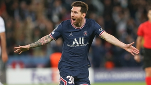 Lionel Messi's first goal for PSG was one to savour