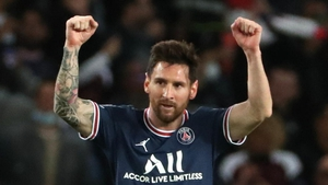 Lionel Messi scored his first Paris Saint-Germain in their win over Manchester City