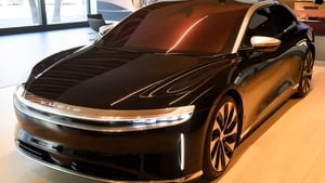 The Lucid Air Grand Touring electric luxury car