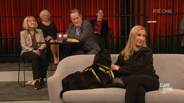 Ciara Byrne, Dog's Trust , and  Aonghus McAnally, Broadcaster and Musician