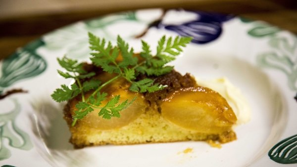 Seasonal stone fruits work brilliantly in this simple and rustic fruit tart.