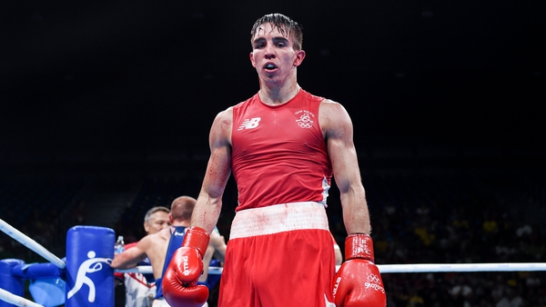Conlan following his bantamweight quarter-final bout with Vladimir Nikitin in Rio