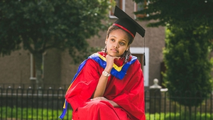Naomi Moonveld-Nkosi in 'What Did I Miss? (Pic: Ste Murray)