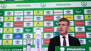 Stephen Kenny was speaking to the media in Dublin at Thursday's squad announcement