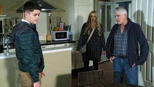 Zak and Tommy reel when Sash discovers their secret on Fair City