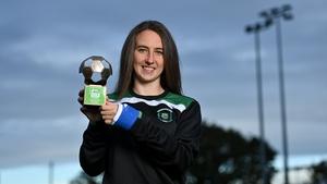 Karen Duggan has won the Player of the Month award for September