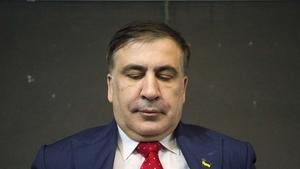 Mikheil Saakashvili (file pic)