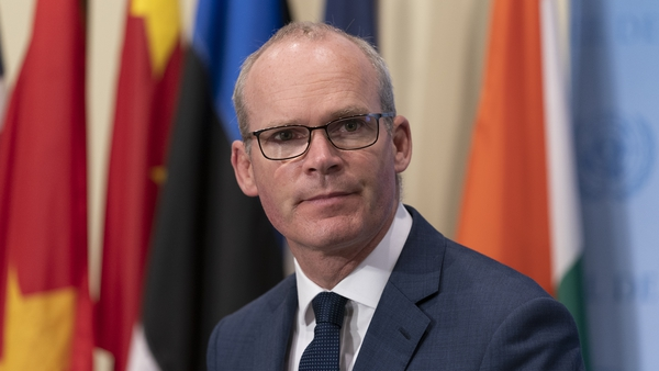 Simon Coveney said no detailed evidence had been provided by Israel