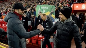 The rival managers will again lock horns at Anfield on Sunday afternoon