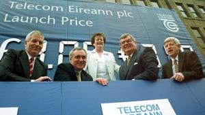 The Eircom Shares Saga: Charlie McCreevy, Bertie Ahern, Mary O'Rourke, Ray MacSharry and Alfie Kane