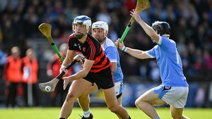 Paddy Leavey of Ballygunner in action against Brian Nolan