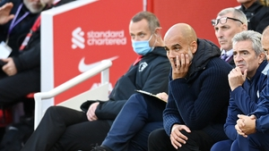 Manager Pep Guardiola said he was not aware of the incident at the time