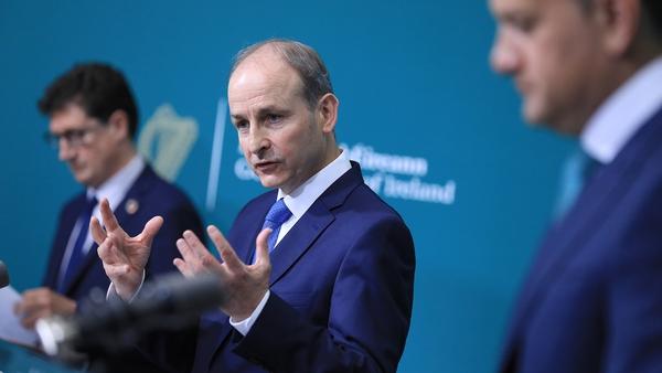 """Taoiseach Micheál Martin said Budget 2022 was """"balanced"""" but """"ambitious"""""""