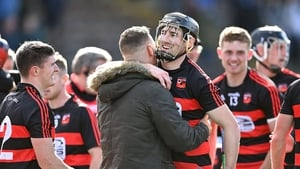 Ballygunner captain Barry Coughlan celebrates after his side's victory