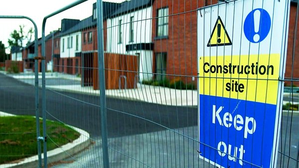100 homes in Castle View estate in Lucan, Co Dublin, were completed in May