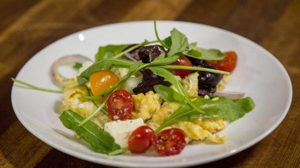 Paul Flynn's Greek salad omelette: Today