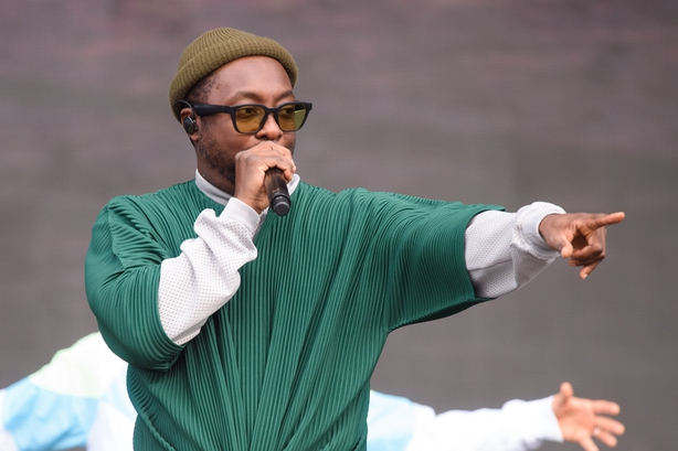 Will.i.am performing during the British Summer Time festival