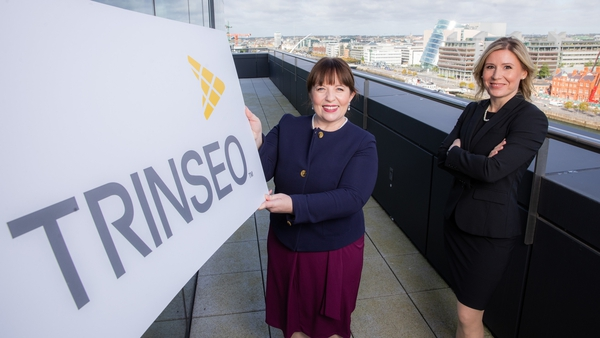 Geraldine Lynch, Trinseo Global Business Services HR Site Leader and Ildiko By, Director Global Business Services