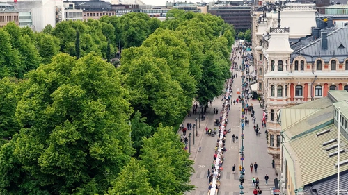 Brimming with art, architecture and nature, the Finnish capital offers culture without crowds, says Sarah Marshall.