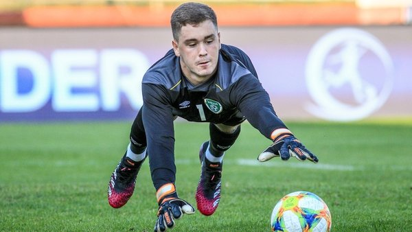 Brian Maher and his Ireland team-mates face their Montenegrin counterparts at Tallaght Stadium on Friday at 5.15pm
