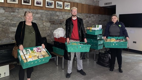 The union announced on Monday it was going to reopen the food bank