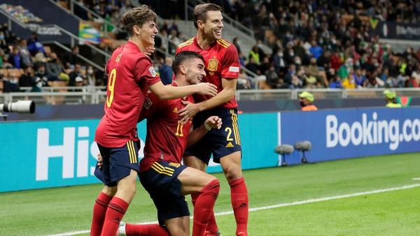 Ferran Torres' brace saw the Spanish through to Sunday's final