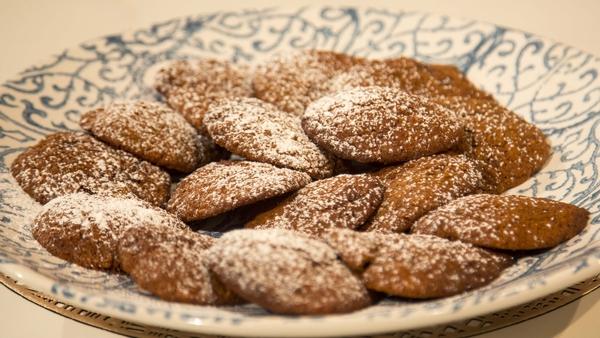Eunice Power's applesauce biscuits.