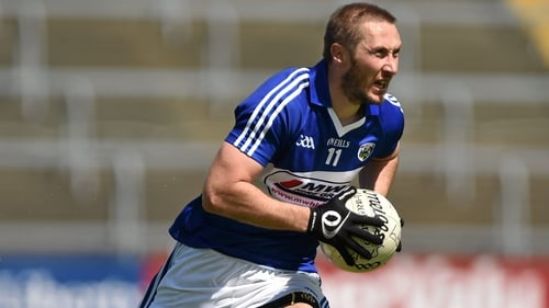 Billy Sheehan in action for Laois back in 2014