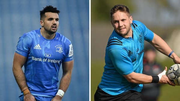 Cian Kelleher (left) and David Johnston (right) are among eight Irish players at Ealing