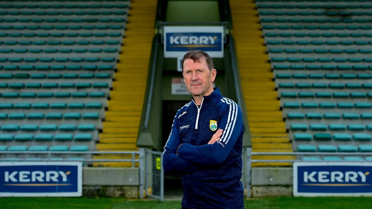 Jack Ó Conchúir;Ceapaithe ina bhainisteoir ar fhoireann caide Chiarraí.